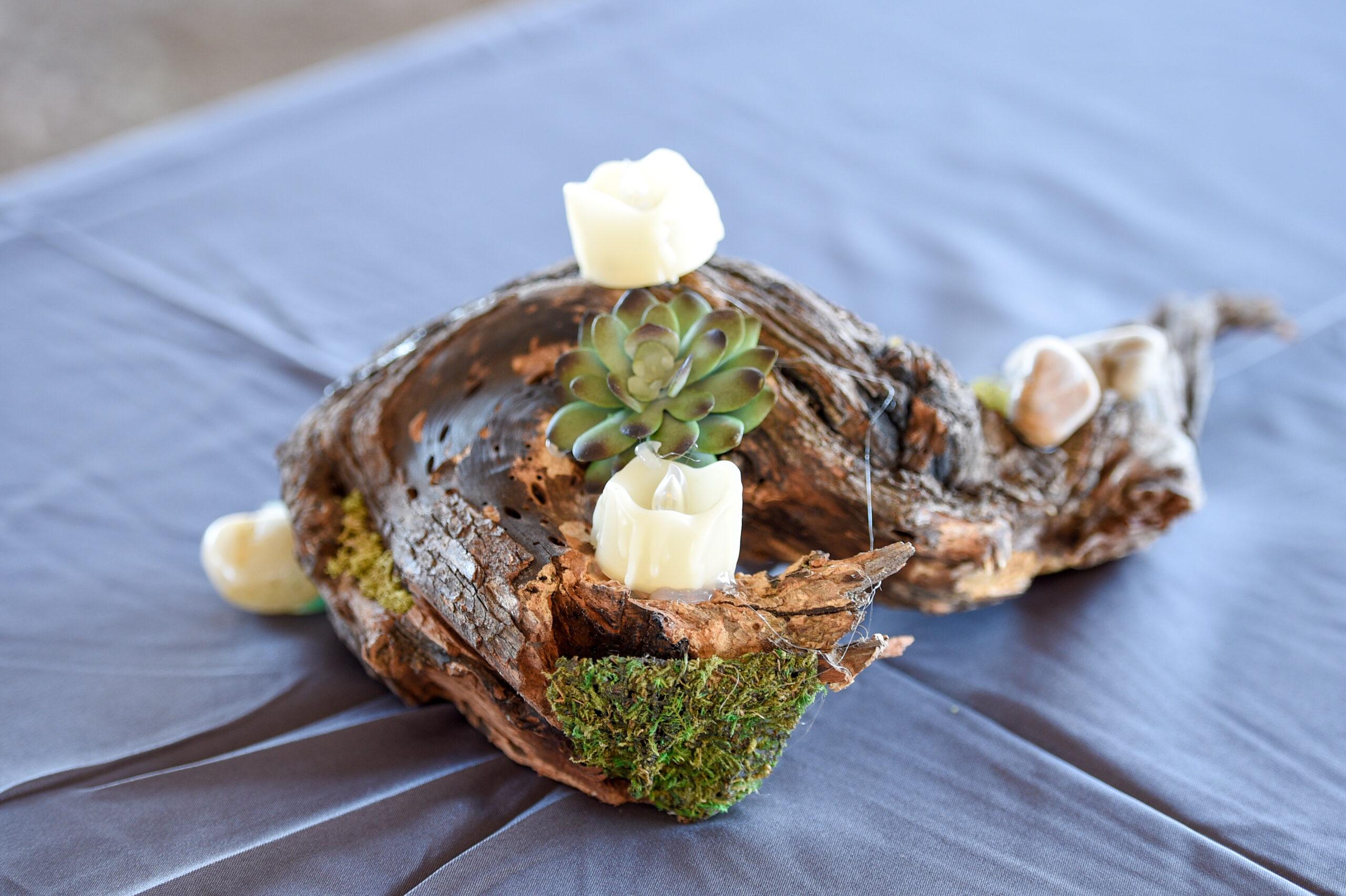 Mesquite root centerpieces